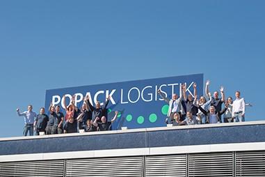 Das Team der Popack Logistik GmbH