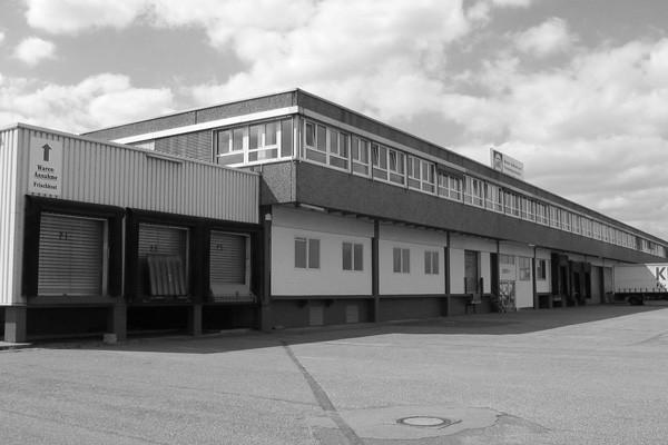 Historische Aufnahme des Firmengebäudes
